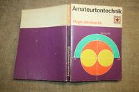 Fachbuch Tontechnik DDR, Mikrofon, Tonband, Bauanleitungen, Akustik, 1983