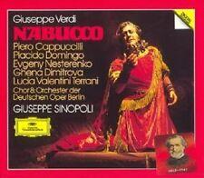 "PLACIDO DOMINGO ""VERDI: NABUCCO (GA)"" 2 CD NEW+"