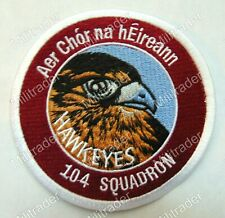 Ireland Irish Air Corps 104th Squadron Patch (Hawkeyes)