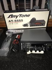 ANYTONE AT-5555 10METER RADIO has had very little use and no abuse opened up