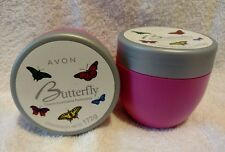 Lot of 2 Avon Butterfly Perfumed Cream/ Crema Suavizante Perfumada 172g each