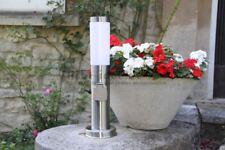 Sockellampe Steckdosenlampe mit Schalter Energiesäule Gartensteckdose Wegelampe