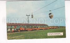 Postcard. Butlin's Minehead. The Chair Lift and Camp Train Butlins