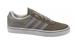 Adidas BUSENITZ VULC Mid Cinder Gray White Skate Discounted (221) Men's Shoes