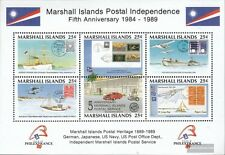 Marshall-Islands block5 (complete.issue.) unmounted mint / never hinged 1989 Pos