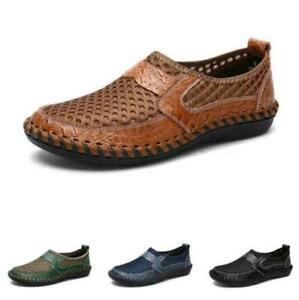 Mens Outdoor Beach Sandals Shoes Slip on Loafers Pumps Moccasins Breathable 48 B