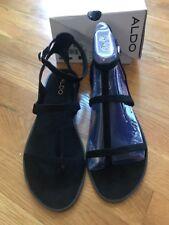 Aldo Women's Tiphanie Black Dress Sandals Size 9 New With Box