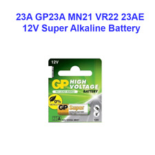GP23A 12V Alarm Remote Alkaline Batteries New Dated 10/2020 US Seller