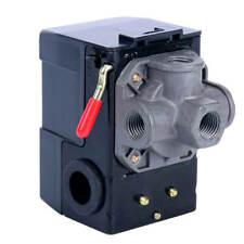 DuraTwist 17-0079 120-150 PSI 4-Port Compressor Pressure Switch with Unloader