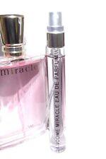 Lancome Miracle Eau de Parfum 10ml EDP Travel SAMPLE Spray Glass 0.34oz Perfume