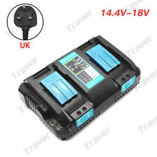 For Makita DC18RD Li-ion LXT 7.2v-18v Fast Rapid Dual Twin Port Battery Charger