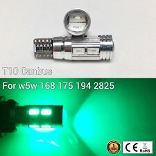 T10 W5W 194 168 2825 12961 Reverse Backup Light Green 10 SMD Canbus LED M1 MA
