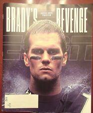 Tom Brady NE Patriots ESPN Revenge Superbowl Preview Magazine February 2017