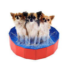 More details for mini pet puppy pool bath swimming portable foldable bathing small game bath uk