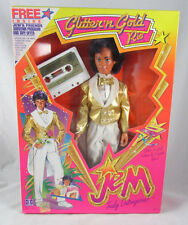 Glitter 'N Gold Rio Doll Hasbro NRFB Cassette Jem Truly Outrageous 1980s