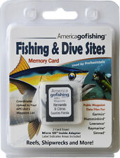 Hernando and Citrus Counties Fishing & Dive Sites Memory Card