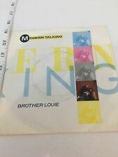 """Modern Talking – Brother Louie "" 1986 [PB40875] 7"" Vinyl"