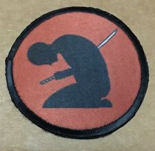 Seppuku Samurai Armor Morale Patch Military Tactical Army Flag USA Hook Badge