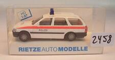 Rietze 1/87 50381 Ford Escort Turnier Kombi Polizei Österreich OVP #2458