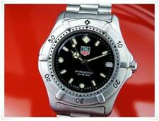 TAG Heuer Stainless Steel Band Polished Wristwatches