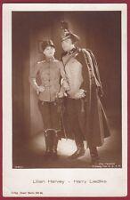 LILIAN HARVEY - HARRY LIEDTKE ATTORI ACTRESS ACTOR CINEMA MOVIE STAR Cartolina