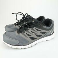 FILA Memory Sendoff 2 Men's Black Grey Athletic Training Sneakers Shoes Size 7.5