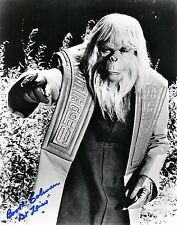 OFFICIAL WEBSITE Booth Coleman (1923-2014) Planet of the Apes 8x10 AUTOGRAPHED