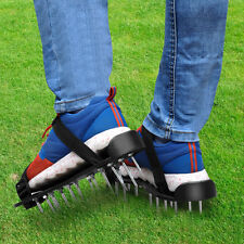 2 PCS Spikes Pair Lawn Garden Grass Aerator Aerating Sandals Shoes 26 x 4.5cm