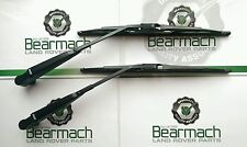 Land Rover Defender 90, 110, TD5, Front Wiper Blades  & Arms Set, 2002 On-Wards