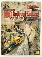 Walthers HO Railroad Catalog Craft Train Reference Manual 1981 Edition U561