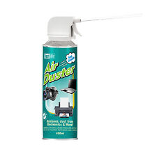 3 x 400ml Compressed Air Duster Cleaner Can Canned Laptop Keyboard Mouse