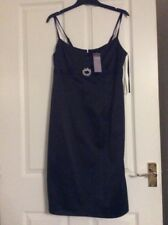 New With Tags  Debenhams Sexy  Party Cocktail Wiggle Dress Size 12 Satin Look