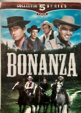 BONANZA COLLECTORS SERIES 5 VHS Tapes 1999 Good Times Home Video WESTERN Sealed