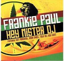 MUSIC CD Frankie Paul Hey Mister DJ Reggae