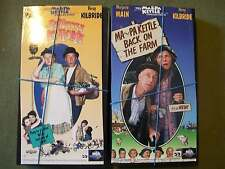Set of 2 Ma and Pa Kettle VHS Back on the Farm and At Home