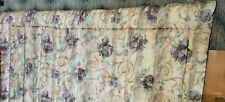 Awesome Croscill Chambord Full/Queen Comforter Purple Roses Scroll Reversible