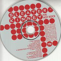 SLEATER-KINNEY The Hot Rock UK 13-trk promo CD Matador