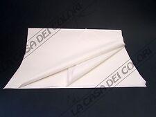 CARTA VELINA - 100x140cm - 20 g/mq - BIANCA - PIEGATA IN 8 - 2 FOGLI