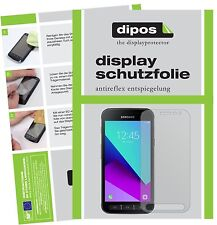 2x Samsung Galaxy Xcover 4 Pellicola Protettiva Protezione Schermo Antiriflesso
