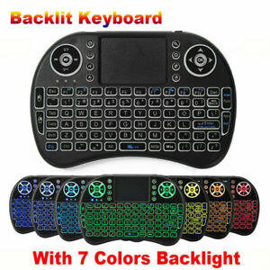 i8 Mini Wireless Keyboard Maus Tastatur Touchpad Backlit für Android TV BOX