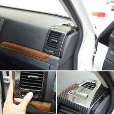 For Mitsubishi Pajero V80 2007-2021 Carbon Black Side Door Air Outlet Vent Cover