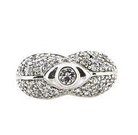 schöner Adagio Jewels Ring - 925er Silber - weiße Zirkonia - mit Etikett