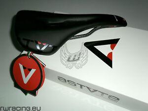 Sella Astute Star Lite VT - colore nero - bici corsa / strada - binario carbonio