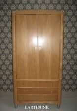 Ethan Allen Radius Armoire 20th Century Industrial Moderne Style 12 9470