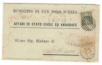 s23663) ITALIA 1889 Folder S. Polo d'Enza in Caviano (p.ti 5)  Bibbiano 1c T14