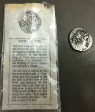 VINTAGE SHEKEL OF TYRE ANCIENT BIBLICAL REPRODUCTION COIN GREEK