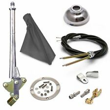 American Shifter 11 E-Brake HandleGray Boot, Cap, Cable Kit, Ford Clevis