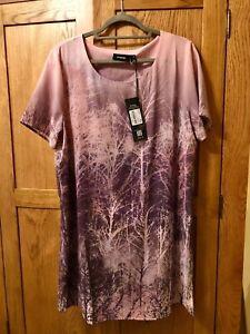 Firetrap Size 14 Bnwt Pink dress or long too