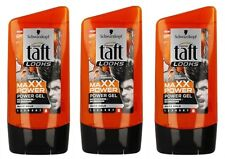 3X Schwarzkopf Taft Looks Maxx Power Hair Styling Modelling Power Gel  3x150ml