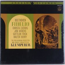 BEETHOVEN: Fidelio ANGEL STEREO lp SEALED Otto Klemperer BOX